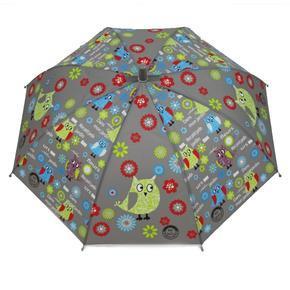 Dětský vystřelovací deštník Anabela šedý