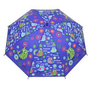 Dětský vystřelovací deštník Anabela modrý