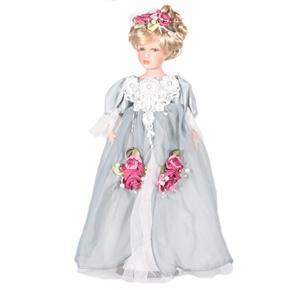 DOLL porcelánová panenka Penelope 45 cm