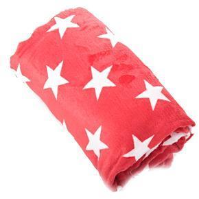 Hřejivá deka Hvězda červená 150 x 200
