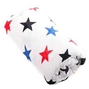 Hřejivá deka Hvězda bílá 150 x 200