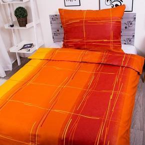Francúzske bavlnené obliečky Martin oranžové