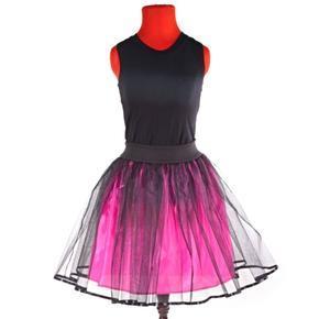 Tutu dámská sukně Marta tmavě růžová