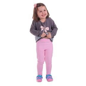 Sv. růžové dětské legíny Cruso od 98 -116