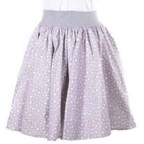 Dámská kolová sukně Nataly šedá