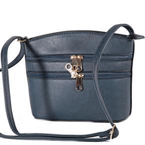 Luxusní dámská crossbody kabelka Armin modrá