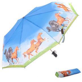 Skládací deštník Dipsy - motiv koně