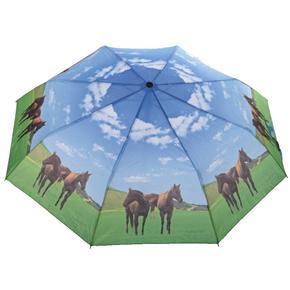Skládací deštník Flop - motiv koně