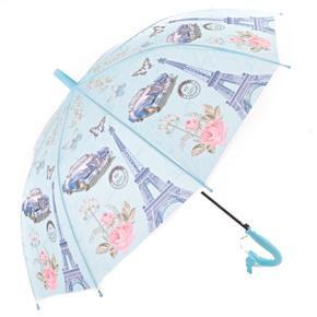 Dětský vystřelovací deštník Brenda modrý