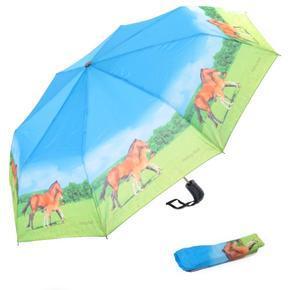 Skládací deštník Cesar - motiv koně