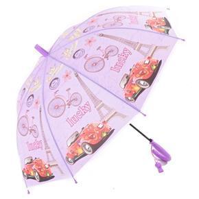 Dětský vystřelovací deštník Brenda fialový