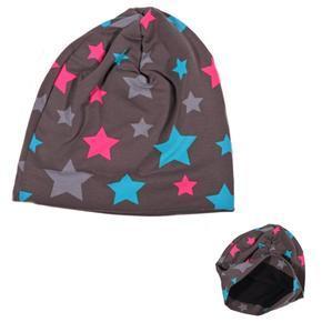 Podzimní dětská čepice Star