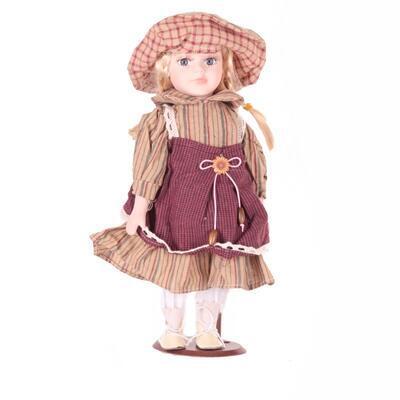 DOLL porcelánová panenka Jodie 30cm