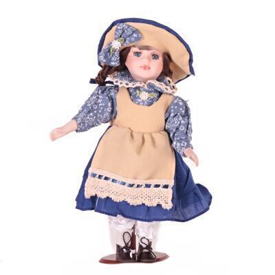 DOLL porcelánová panenka Rosie 30cm