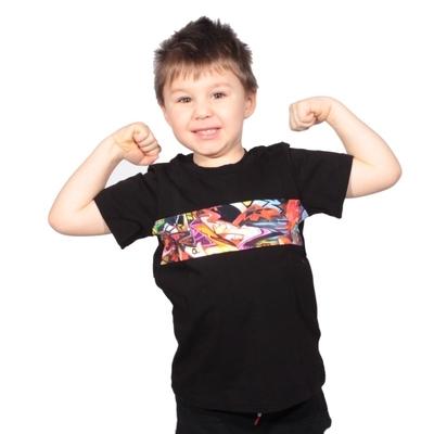 Detské tričko s grafity Lucie od 98-116 - 1