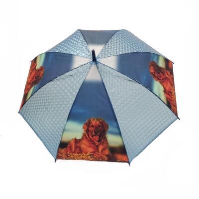 Vystřelovací deštník Puppy modrý - 1