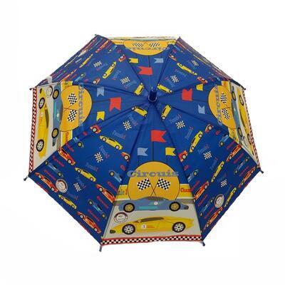 Dětský vystřelovací deštník Tomáš světle modrý - 1