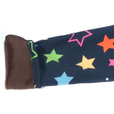 Dětské zimní legíny Hvězdičky modré - 1