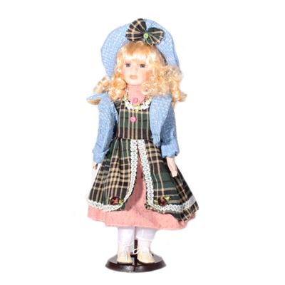 Doll porcelánová panenka Vanda 40 cm