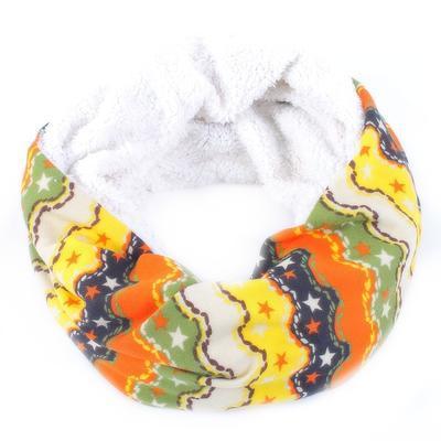 Žlutý tunelový šátek Holly