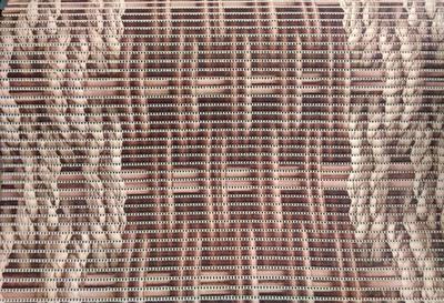 Gumová koupelnová rohož 65cm  Libor v hnědé barvě - 1