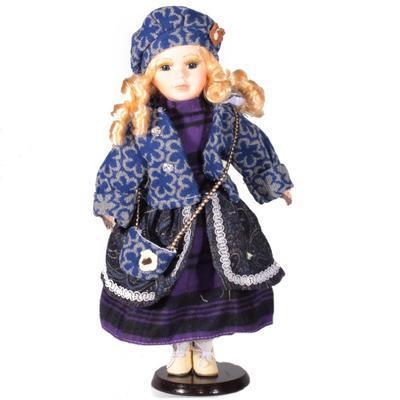 DOLL porcelánová panenka Marcela 40 cm