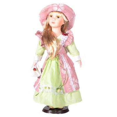DOLL porcelánová panenka Hilda 40 cm