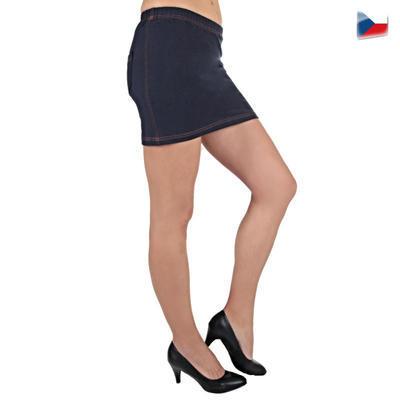 Elastická modrá sukne Sammy - 1