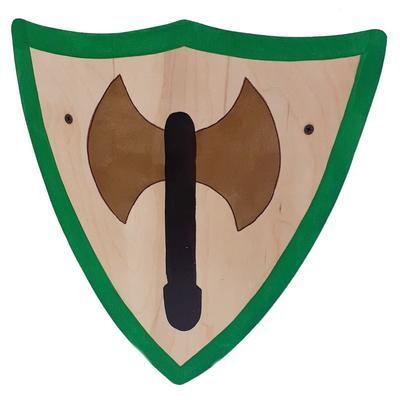 Malý dětský rytířský dřevěný štít Daniel