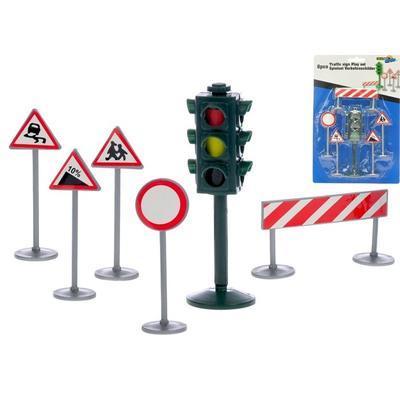 Sada dopravního značení se semaforem Diego
