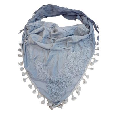 Dámský trendy šátek Achym modrý