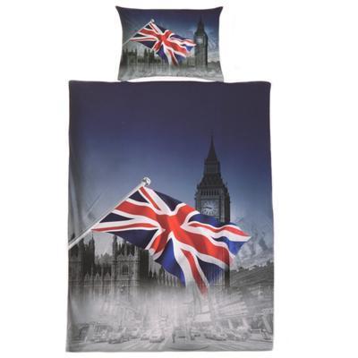3D dvojlôžkové obliečky motív England