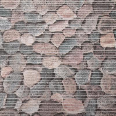 Gumová kúpeľňové rohože 65cm Kameny šede - 1