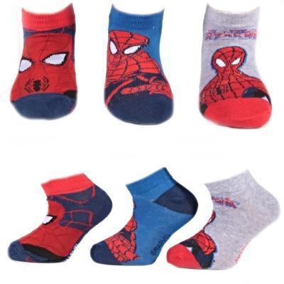 Klučičí nízké ponožky Spider-Man P8b - 1