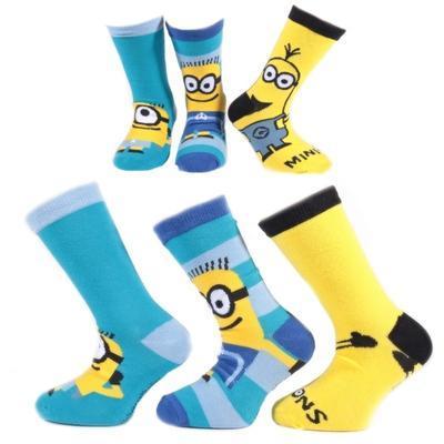 Klasické dětské ponožky Mimoni P3d - 1