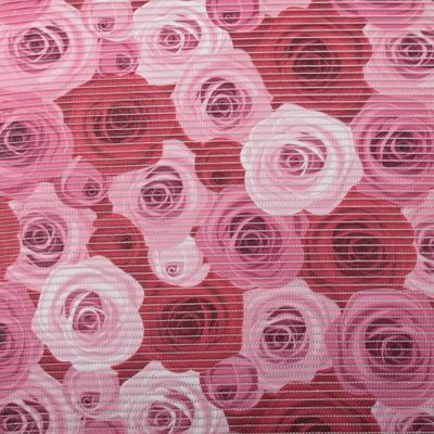 Gumová kúpeľňové rohože 65cm Ruže - 1