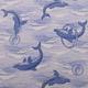Gumová kúpeľňové rohože 65cm Delfín - 1/2