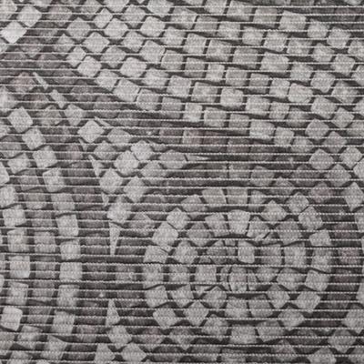 Gumová koupelnova rohož 65cm Dlažba - 1