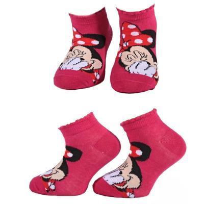Kotníkové dívčí ponožky Minnie Mause P4c CR  - 1