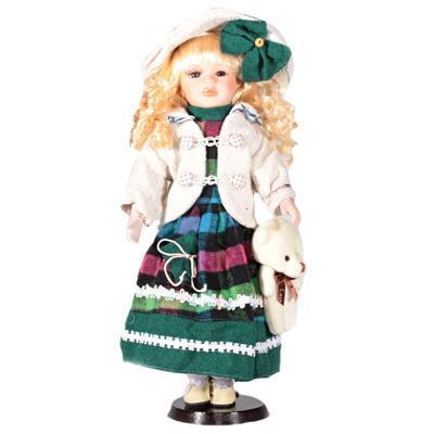 DOLL porcelánová panenka Mia 40 cm