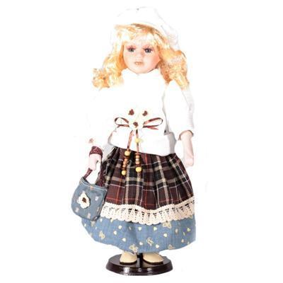 DOLL porcelánová panenka Theodora 40 cm