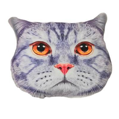 Nadýchaný polštář kočka Micka - 1