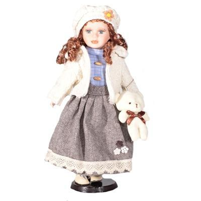 DOLL porcelánová panenka Karolina 40 cm