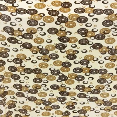 Hřejivá deka Virginie 200 x 230 žlutohnědá - 1