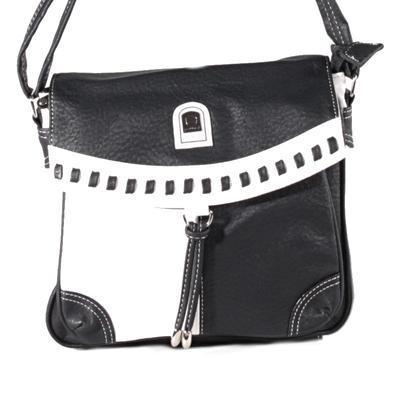Černobílá crossbody kabelka Patricia - 1