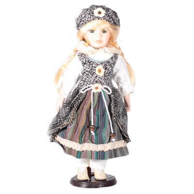 DOLL porcelánová panenka Radka 40 cm