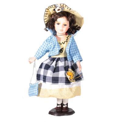 DOLL porcelánová panenka Dalie 40 cm