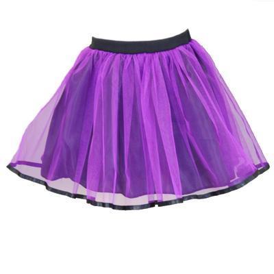 Dívčí fialová tutu sukně Nesy - 1