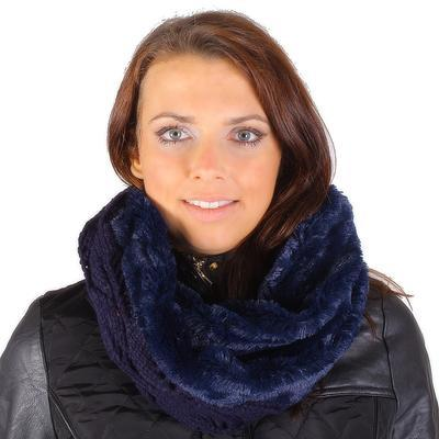 Designový modrý nákrčník Becky - 1