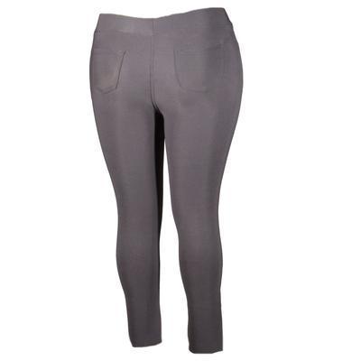 Černé kalhotové zimní legíny Olivie - 1